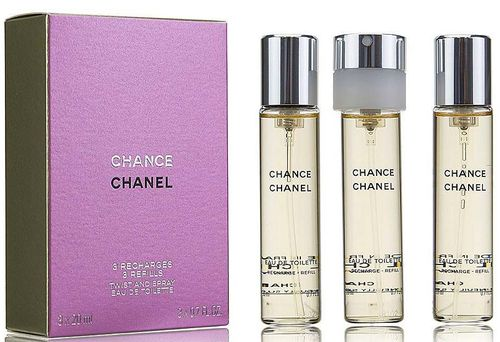 Chanel Chance eau de Toilette 60 ml. Twist & Spray
